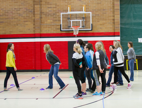 Woodland Primary and Intermediate Schools participated in specialized training to create the ideal recess experience for students.