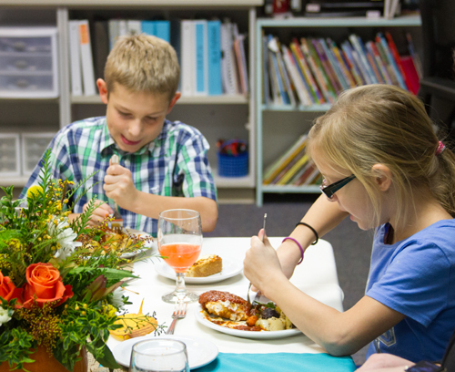 Woodlands third graders enjoy fine food while learning  : WIS Fine Dining Event 2original from 169.204.158.2 size 500 x 408 jpeg 258kB