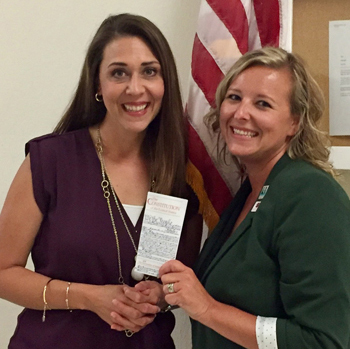 Conditt met with Washington State Representative Jaime Herrera Beutler to discuss funding structures and to advocate for Woodland's students and staff.