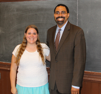 While attending the Institute, Katie Klaus met current Secretary of Education Betsy DeVos and former Secretary of Education John King (pictured here).