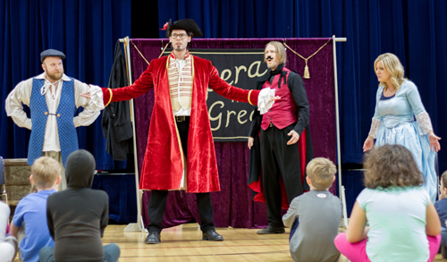 "Opera Quest Northwest performed ""Opera the Great"" at 20 schools last year and aims to visit at least 25 this year."