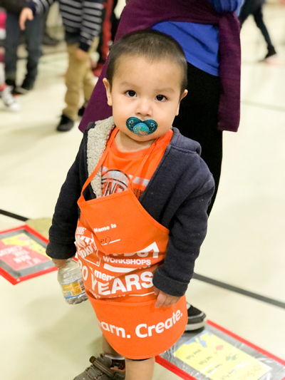 Woodland Intermediate School greatly appreciates the generosity of Home Depot in helping to make an incredibly popular event.